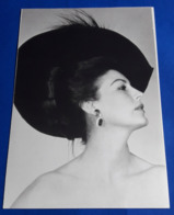 AVA GARDNER # Portrait # Vintage Photo-Card # [19-1492] - Fotos