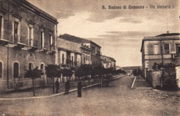 12718 - Santo Stefano Di Camastra - Via Umberto I (Messina) F - Messina