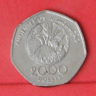 SAINT THOMAS E PRINCIPE 2000 DOBRAS 1997 -    KM# 91 - (Nº31456) - Sao Tome And Principe