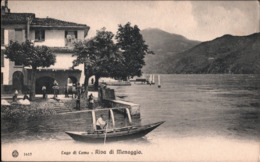 ! Alte Ansichtskarte Lago Di Como, Riva Di Menaggio, Italien - Other Cities