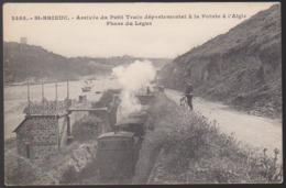 CPA - (22) St Brieuc - Arrivée Du Petit Train Départemental A La Pointe à L'aigle - Phare Du Légué - Saint-Brieuc