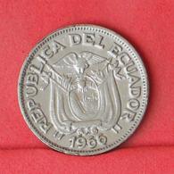 ECUADOR 20 CENTAVOS 1966 -    KM# 77,1c - (Nº31460) - Ecuador