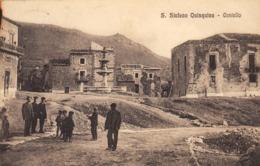 12720 - Santo Stefano Quisquina - Piazza Castello (Agrigento) F - Agrigento