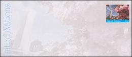 UNO New York Umschlag U 21B Kirschbäume 44 Cent 2010, 240x114, Ungebraucht ** - New York -  VN Hauptquartier