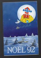 (jouets) Catalogue SAJOU NOÊL 1992 (CAT 1505) - Publicités