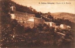 12721 - Santo Stefano Quisquina - Eremo Di S. Rosalia (Agrigento) F - Agrigento