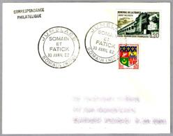 HERMANAMIENTO SOMAIN Y FATICK - JUMELAGE. Somain, Francia, 1962 - Otros