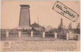 Waterloo - Cpa / Gordon And Hanoverlans Monuments. - Histoire