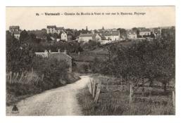 78 YVELINES - VERNEUIL  Chemin Du Moulin-à-Vent Et Vue Sur Le Hameau - Verneuil Sur Seine