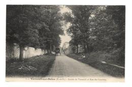 78 YVELINES - VERNEUIL SUR SEINE Entrée De Verneuil Et Rue Des Graviers - Verneuil Sur Seine