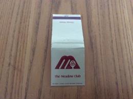 """Pochette D'allumettes États-Unis """"The Meadow Club - Chicago, Illinois"""" - Boites D'allumettes"""