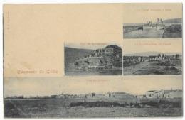 Souvenir De Crète Fort De Spinalonga Le Canal Français à Sitia La Construction Du Canal Vue Du Jerapetra - Grecia