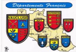 Cp ( Adhesive / Autocollant ) -84-pas Sur Delc.-departements Francais -vaucluse- - France