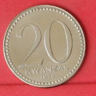 ANGOLA 20 KWANZAS 1978 -    KM# 87 - (Nº31478) - Angola