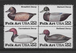 Thème Oiseaux - Etats Unis - Timbres Neufs ** Sans Charnière - TB - Vögel