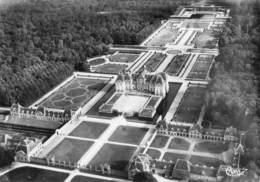 VAUX LE VICOMTE Vue Aerienne Du Chateau Et Les Jardins Dessines Par Le Notre  9 (scan Recto Verso)MG2882BIS - Vaux Le Vicomte