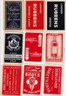 9 SPEELKAARTEN LIKEUREN ALLEN VERSCHILLEND - Playing Cards