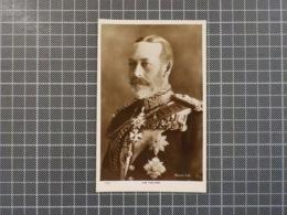 11.776) United Kingdom The King Georg V Photo Bassano Ltd Real Photograph - Familias Reales