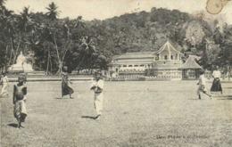 Une Place à Colombo RV Messageries Maritimes RV Ecrite Dos Non Partagé - Sri Lanka (Ceylon)