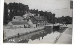 Cepoy  Carte Photo  L'ecluse  Voyagé 1957 - Autres Communes