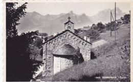 Cpa-sui-corbeyrier-pas Sur Delc.-eglise--edi Metzger N°1865 - VD Vaud