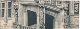 BLOIS - N° 3 - L'ESCALIER FRANCOIS 1er - DETAIL ( Carte Double) - Blois