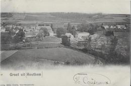 1 Ansichtkaart 1902 - Groet Uit Houthem - Panorama - Crolla - Valkenburg