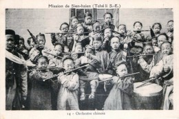 Chine - Sien-Hsien - Orchestre Chinois - Chine