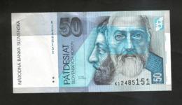 SLOVAKIA / SLOWAKEI -  50 KORUN (2002) - Eslovaquia