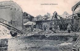 France - 02 - Soissons - Guerre 14/18 - Zuckerfabrik Vor Soissons - Usine De Sucre Avant Soissons - Soissons