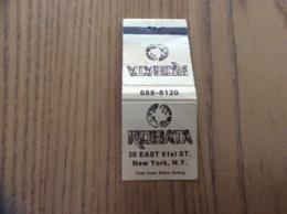"Pochette D'allumettes ETATS UNIS ""ROBATA - NEW YORK"" - Matchboxes"