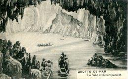 Belgique - Han Sur Lesse - La Salle D'Embarquement - Ecrite Timbrée - 6512 - Belgique
