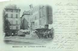 France -  13 - Marseille - La Place Victor Gélu - Canebière, Centre Ville