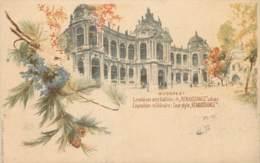 Hongrie - Type Gruss Aus - Budapest - Exposition Millénaire - Cour Style Renaissance - Hongarije