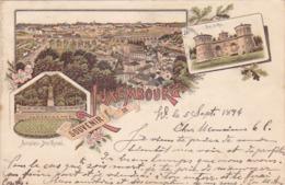 Cpa ( Litho Colorisée)-luxembourg-souvenir De... - Luxembourg - Ville