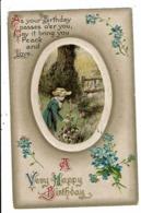 CPA-Carte Postale-Royaume Uni - A Very Happy Birthday  - 1910  VM7207 - Birthday