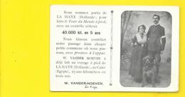VANDER HOEVEN Voyage De LA HAYE Au CAIRE Pays Bas - Altri