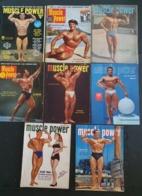 Bodybuilding Lot De Magazines Muscle Power Weider - Livres, BD, Revues