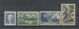 FRANCIA  YVERT  581/84   MNH  ** - 1939-44 Iris