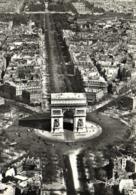PARIS  Vue Aérienne L'Arc De Triomphe De L' Etoile Et L'Avenue Des Champs Elysées Pilote Operateur R Henrard - Frankreich