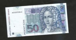 CROAZIA / CROATIA - NATIONAL BANK -  50 KUNA (2002) - - Croazia