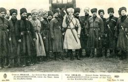 Le Grand Duc MICHAEL ALEXANDROVITCH  Dans Les Karpatnes    933 - Guerre 1914-18