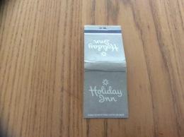 "Pochette D'allumettes ETATS UNIS ""Holiday Inn"" Fond Gris - Matchboxes"