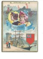 Chromo ANGLETERRE ENGLAND LONDRES LONDON Pub: LU Lefèvre-Utile Bien 110 X 80 Mm 2 Scans - Lu