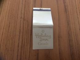 "Pochette D'allumettes CANADA ""Holiday Inn"" Fond Beige - Matchboxes"