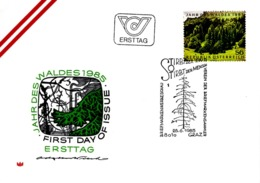 FDC - Jahr Des Waldes 28.06.1985 Ersttag - FDC