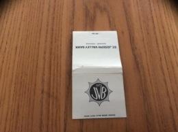 """Pochette D'allumettes Etats-Unis «ST JVB - ST JOSEPH VALLEY BANK - ELKHART, INDIANA"""" - Matchboxes"""