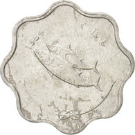 Monnaie, MALDIVE ISLANDS, 5 Laari, 1984, TTB+, Aluminium, KM:69 - Maldivas