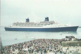 Bateaux  CPM Paquebot Depart Du Norway De Cherbourg 1999 - Piroscafi