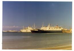 PHOTO  -  GRECE -  RHODES  - Le Port - Septembre 1970 - Lieux